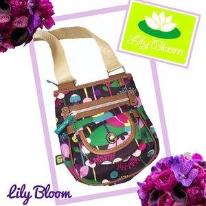 LILY BLOOM Floral Multicolor Crossbody